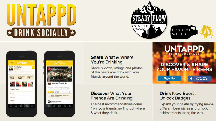 Check us out in the New App Untappd
